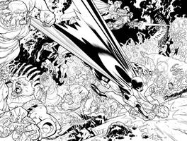 big fight from issue 49 by RyanOttley