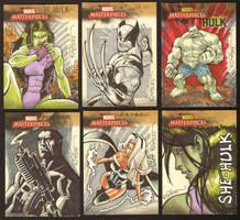 Marvel cards by RyanOttley