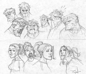 Making faces by RyanOttley