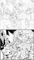Gaurdians fight by RyanOttley