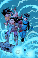 Invincible 54 cover by RyanOttley
