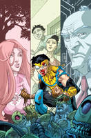 Invincible TPB 10 by RyanOttley