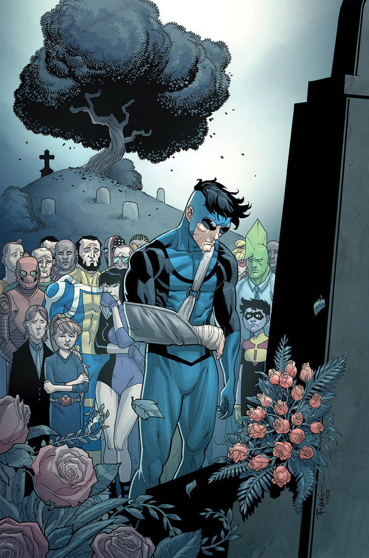 Invincible 65 cover by RyanOttley