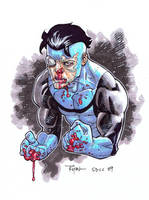Beat-up Invincible by RyanOttley