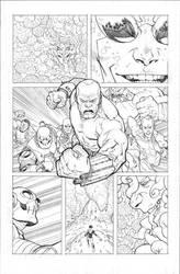 Invincible 70 p11 pencils by RyanOttley