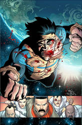 INVINCIBLE 77 cover by RyanOttley