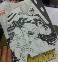 Iron Man Captain America by RyanOttley