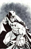 Batman commission at C3 by RyanOttley