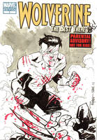 SDCC Invincible vs Wolverine by RyanOttley