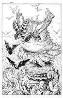 squish bog monster by RyanOttley