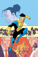 cover for Invincible TPB 4 by RyanOttley