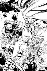 INHUMAN 5 cover by RyanOttley