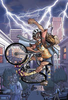 Ted Noodleman Bicycle delivery by RyanOttley