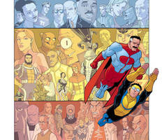 Invincible HARD COVER by RyanOttley