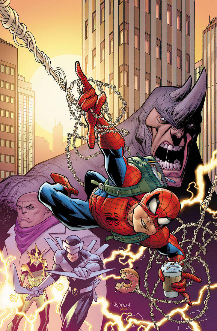 Amazing Spider-man by RyanOttley