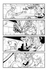 Pg of ish 26, Fetus and Robot by RyanOttley