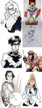 Sketches and Commissions by RyanOttley