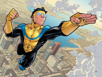 Invincible poster by RyanOttley