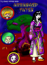 Arranged Fates title page by Hipper-Reed