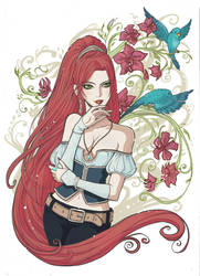 Shannah par CalamityLynn by iridesia
