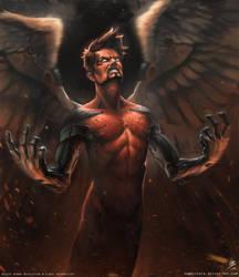 Deus Ex HR - Icarus by SpoonfishLee