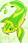 Koi Fish by Battenburgg