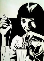 Mia Wallace by Battenburgg