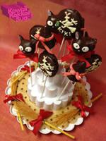 Kiki's Delivery Service Cake Pop! by kawaiikakkoiisugoi
