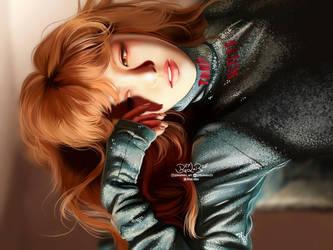 Wendy (Peek-A-Boo) RED VELVET Fanart byBiaLobo by BiaLobo
