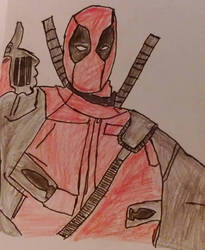 deadpool  by chile3456