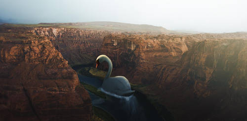 Swan Canyon by lextragon