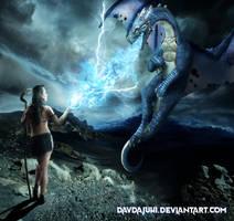 The dragon warrior's dream by davdajuhi
