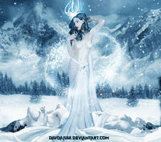 Shroud Of Frost by davdajuhi