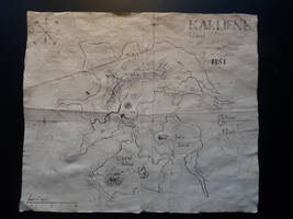 A map of Karliene Island by Panthaleon