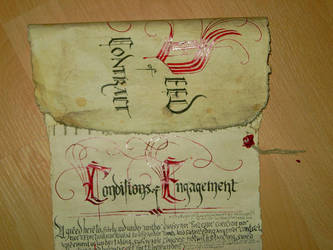 Bilbo's Contract detail 1 by Panthaleon
