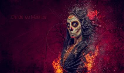 Dia de los muertos by Dobi78