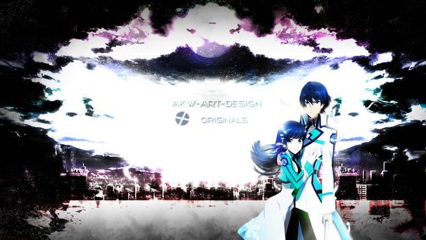 Mahouka Tatsuya x Miyuki by Akw-Art-Design