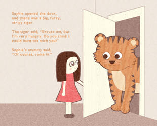 The Tiger Who Came For Tea by hallatt