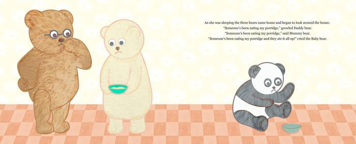 Goldilocks And The Three Teddy Bears 4 by hallatt