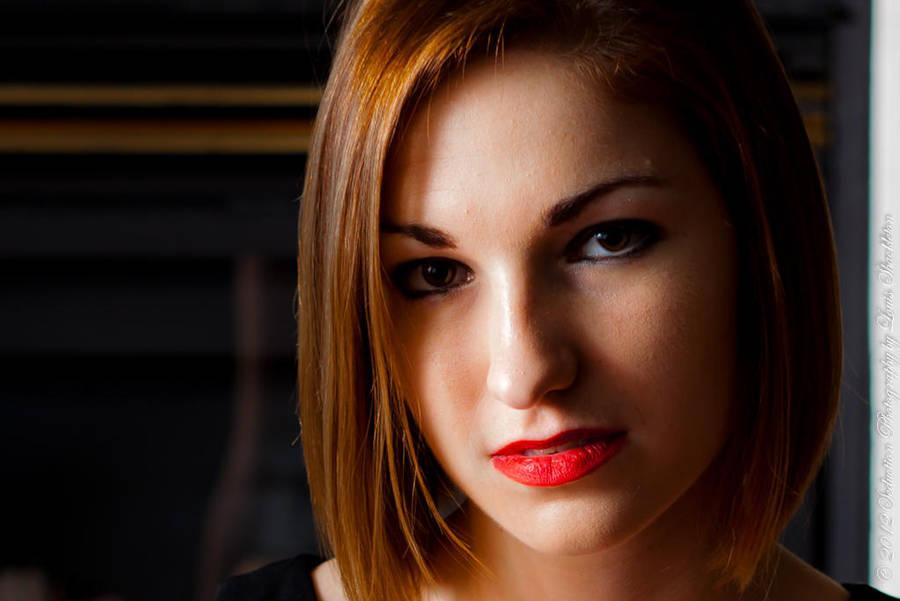 Portrait of a Girl by LouFCD