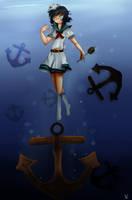 Captain Murasa Minamitsu by LohiAxel