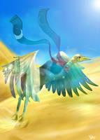 The Mirage-Bird by LohiAxel
