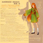 FC Character Sheet - Rousoku Hikari by LohiAxel