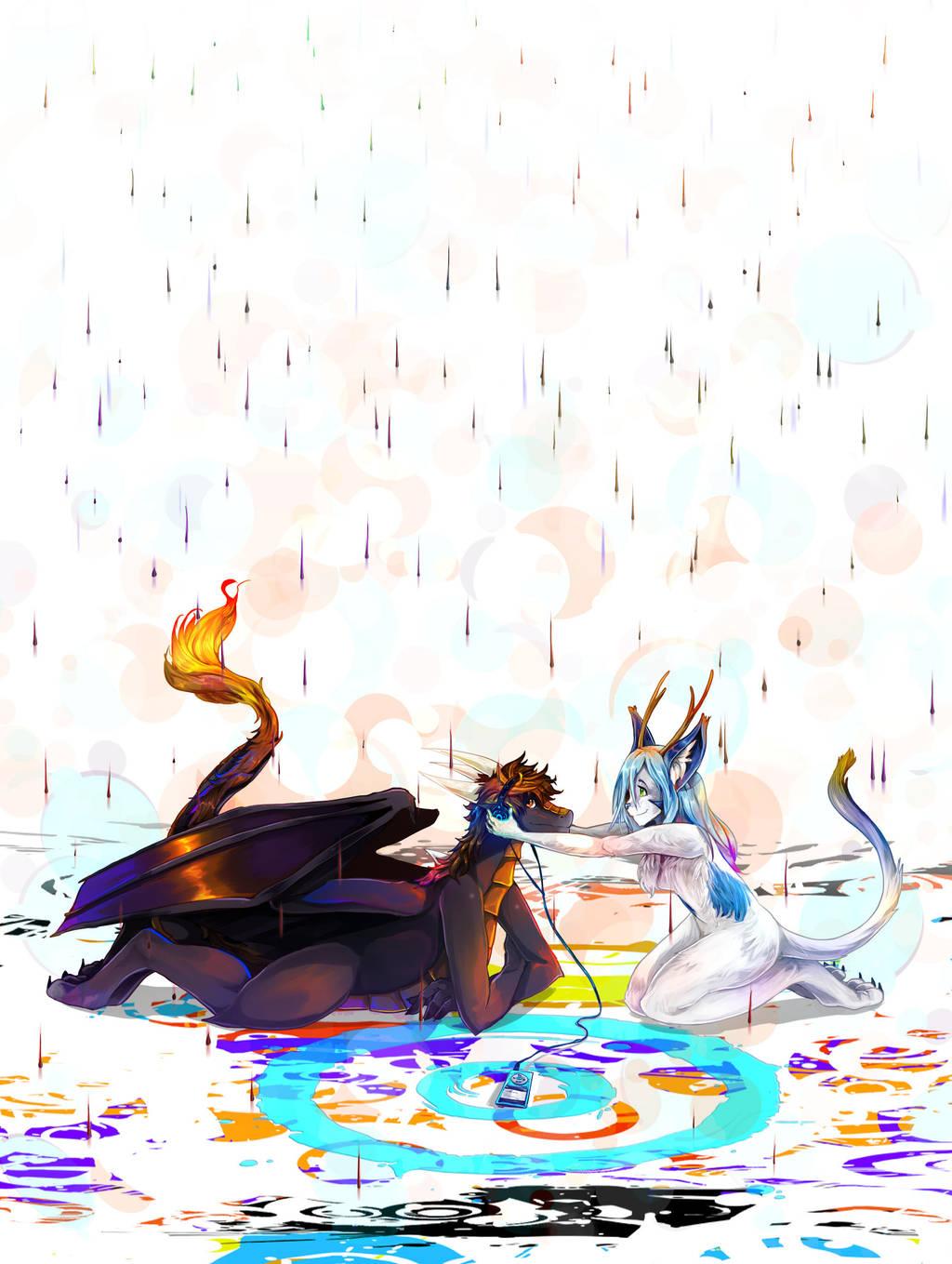 Raindrops by LohiAxel