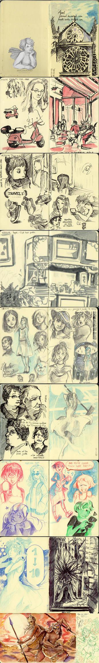 Sketchbook stuff #1 by LohiAxel
