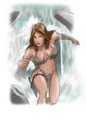 jungle girl tribute by kaeae