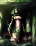 Naga Matriarch by Weelow