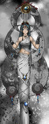 The Goddess of the Moon..::::: by Chrisxdd