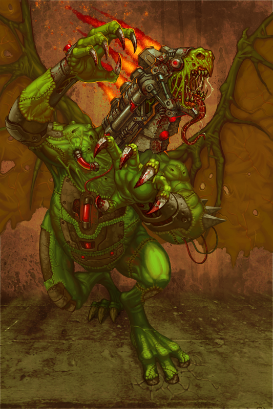 Phase -- Evil Dragon by b-nine