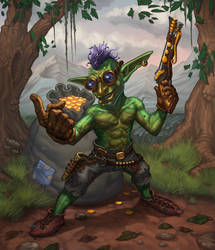 Goblin Looter by b-nine